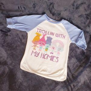 Other - 👧 Girls Trolls T-Shirt Size 7/8